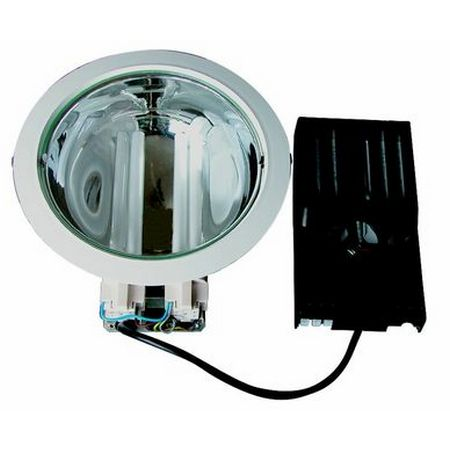 Downlight 245mm 2x18w regulable L.Philips C.