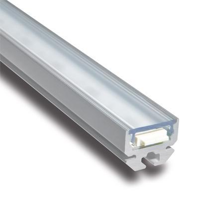 Samta 30cm Med Power LED 5w 24Vdc 3000K Aluminio Anodizado