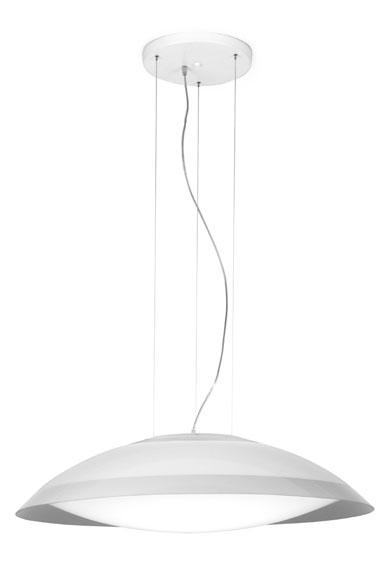 Lens Pendant Lamp 120cm tc55w methacrylate opal