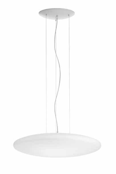 Sun Pendant Lamp 60cm R7s 300W Glass opal
