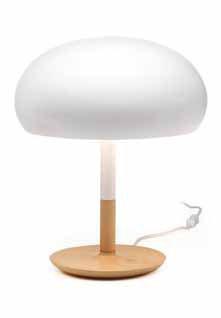 Aspen Lampe de table ceramica 45cm 3xE14 blanc