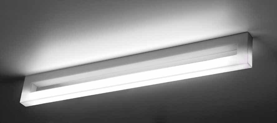 Bath B Wall Lamp 60cm 24W methacrylate opal