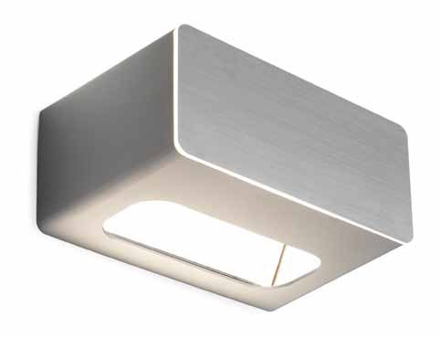Note Aplique 250W Aluminio Blanco