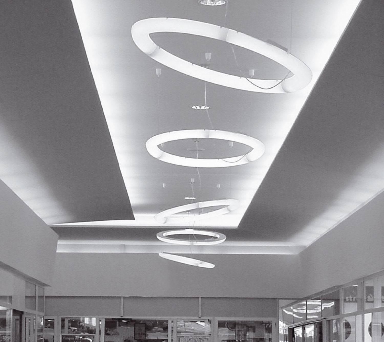 NonStop Lámpara Colgante d150 blanco LED 54W 24V 6000lm 4000K