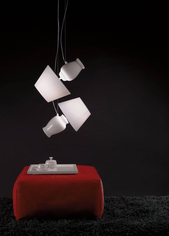 Novecento Lámpara Colgante PICCOLA 2xFLUO E27 16W 815lm CLASSE A