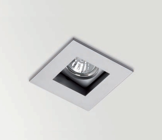 Win Downlight baador de Pared 15 QR-CBC 51 50w Nquel Satinado