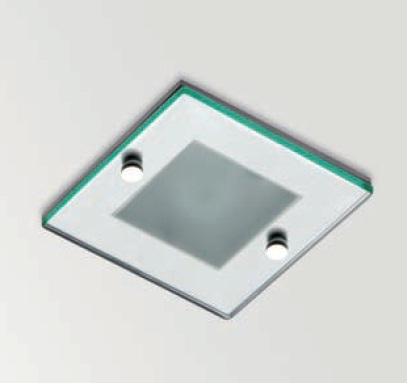 Win Downlight Recessed Diffuser optico IP44 QR-CBC 51 50w Aluminium
