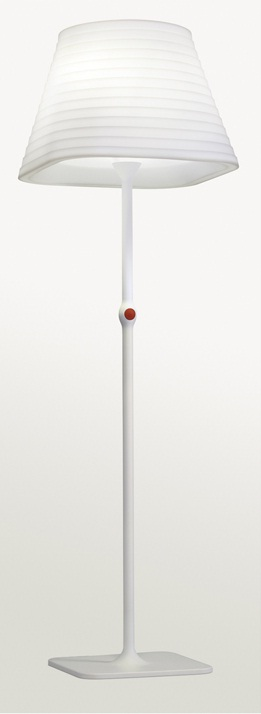 Brigit lámpara of Floor Lamp Outdoor E27 4x23w IP65 white