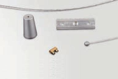 Move Kit Suspensión para Carril trifásico 230V Accesorio Aluminio
