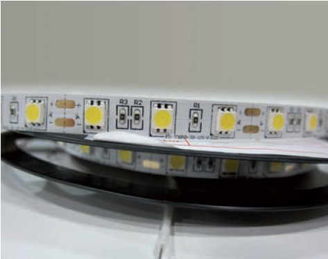 Led strip IP65 12VDC/24W 3000 (1100Lm/5m, 60 LED m,3528)