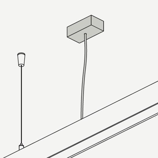 Profile 060 câble Alimentateur 2,5mm (Accessoire)
