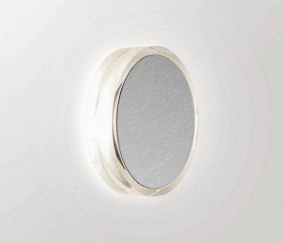 Alfa LED 4w 3000K Anodizados Prata mate