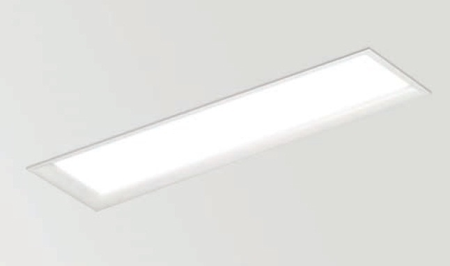 Arkos lampshade T5L Recessed rectangular 121,1cm T5 2x54w G5 white matt