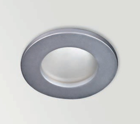 Basic Recessed fixed IP65 ø8cm Gx5.3 QR-CBC51 50w Chrome Mate