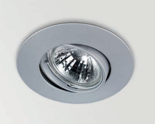 Basic Recessed adjustable ø9,5cm Gx5.3 QR-CBC 51 50w Nickel Satin