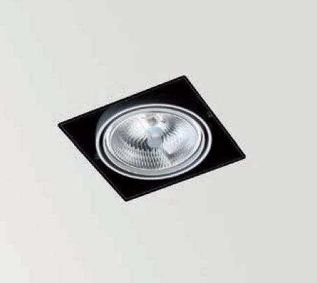 Orbital Trimless 1 Recessed adjustable QR-111 G53 75w white matt