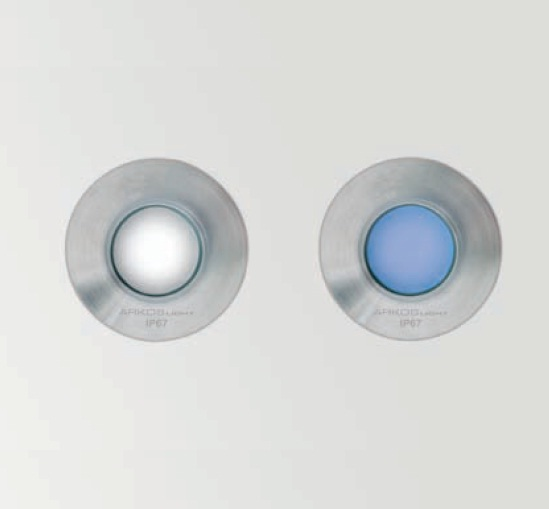 Recessed star Recessed suelo Outdoor LED 60 1w white 4000kº Stainless Steel