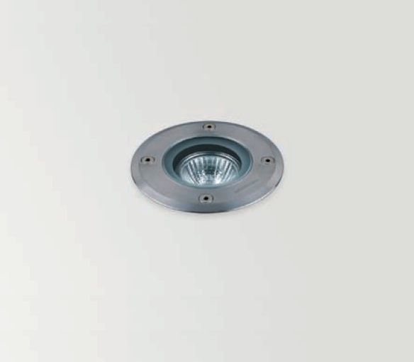 Recessed Recessed suelo Outdoor 1xGU10 HI spot 35w Transparent glass Stainless Steel