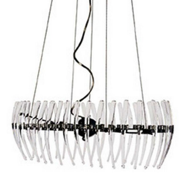 Comb oval 71 Pendant Lamp Stradivarius Claro