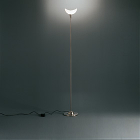 Acquarelli lámpara of Floor Lamp Niquel