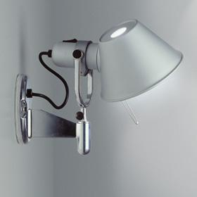 Tolomeo Faretto Aplique Aluminio