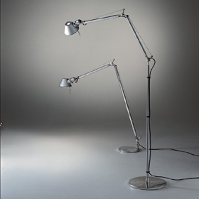 Tolomeo Wall Lamp body lámp Halogen darklight incl bombilla: al.