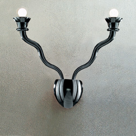 Gaia Wall Lamp 2 Wall Lamp Black
