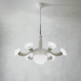 Leda Pendant Lamp 6 Multicolour