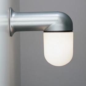 Catilina Lamp of Wall Lamp and Floor Lamp body Lamp Grey Silver Diffuser Glass