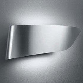 Eurialo Wall/Ceiling lamp Halogen Aluminium