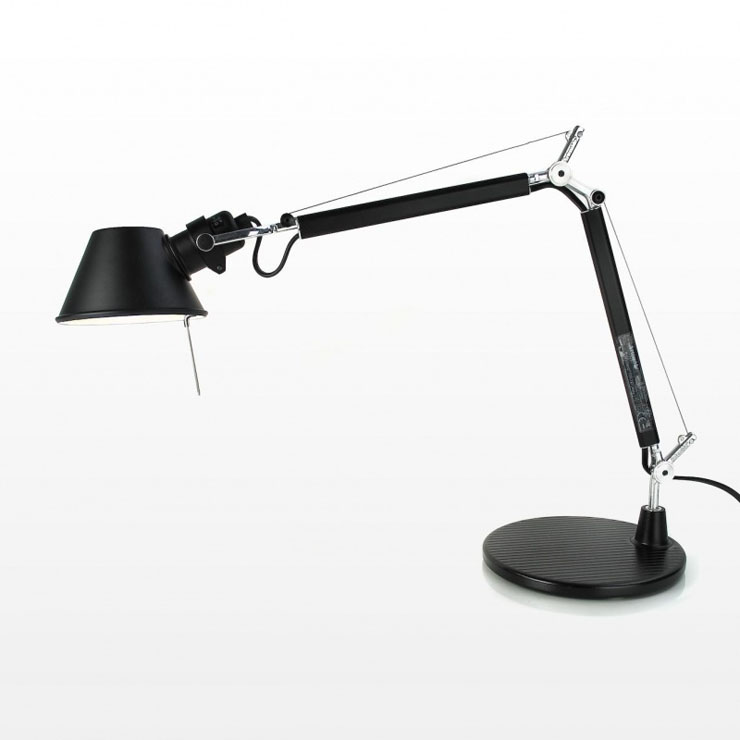 Tolomeo Micro (with table base) Halogen E14 1x46w - Black
