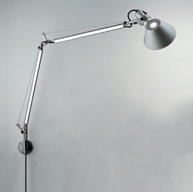 Tolomeo Wall Lamp body lámp Halogen difundente incl bombilla: al.