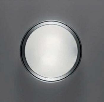 Pantarei 190 Incandescente: Vetro Sabbiado Alluminio