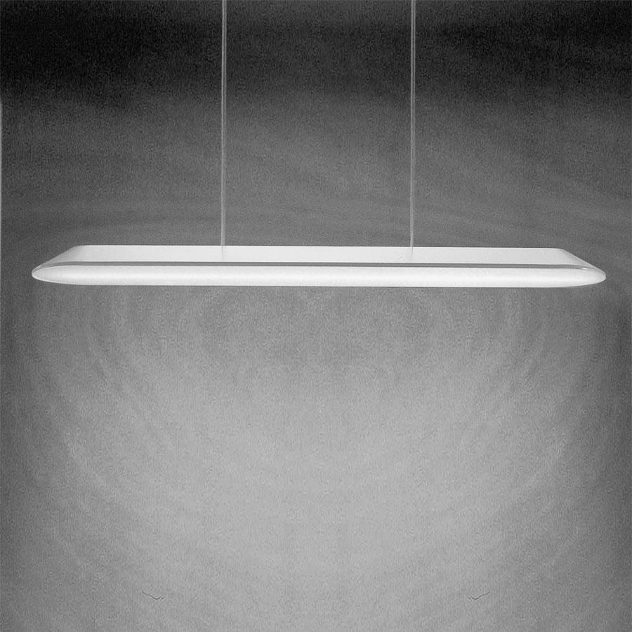 Float Lámpara Colgante Lineal 103cm 1x39w G5 blanco