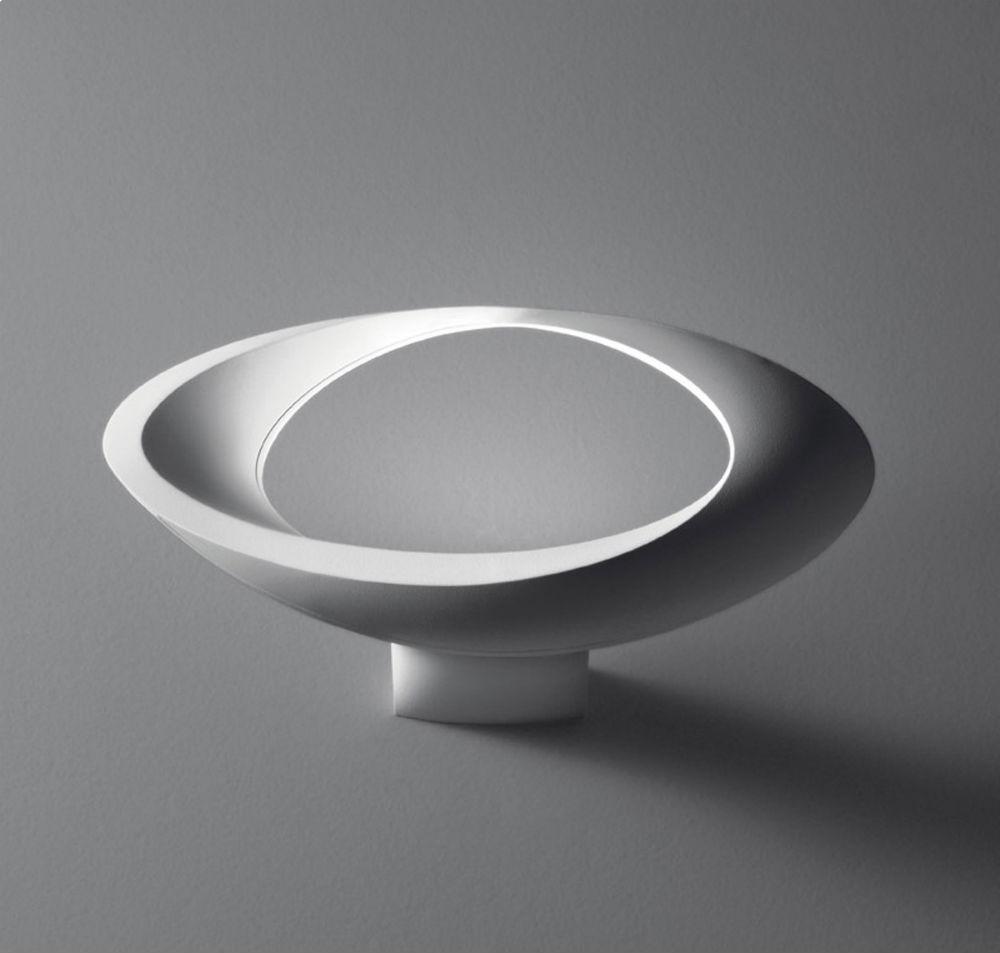 Cabildo Wall/Ceiling Lamp Halogen 41cm white