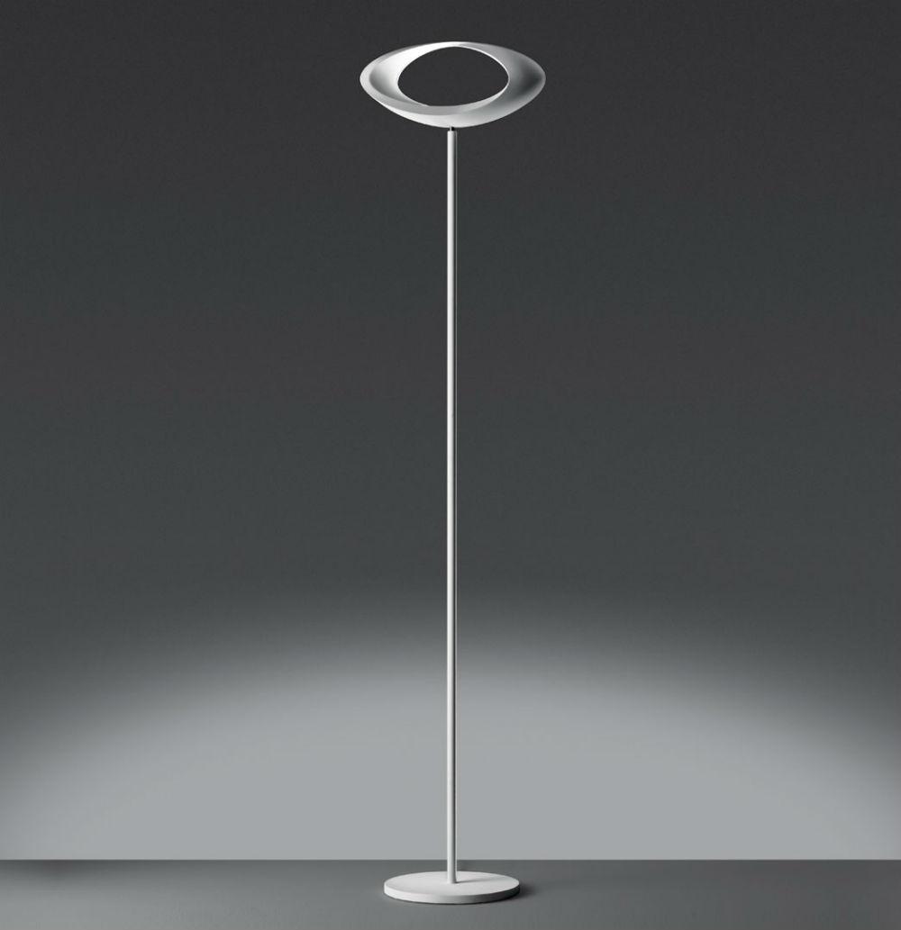 Cabildo lámpara de Pie 183cm blanco