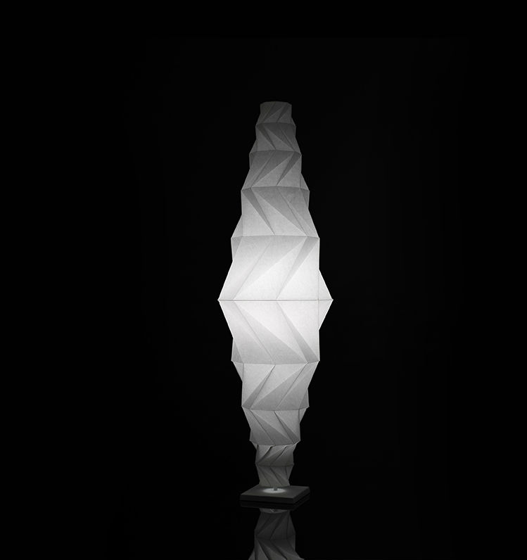 IN EI Minomushi lámpara of Floor Lamp 185cm 30w LED 3000K white