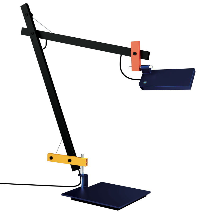 Lotek (Structure) Balanced-arm lamp LED 7,5w 3000K without Accessory base - Multicolour
