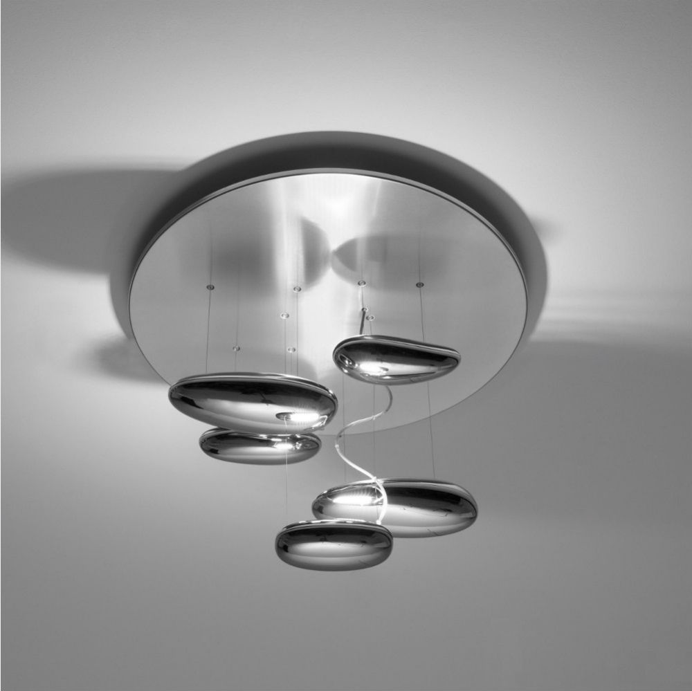 Mercury Mini Ceiling lamp 70cm R7s 160w Stainless steel