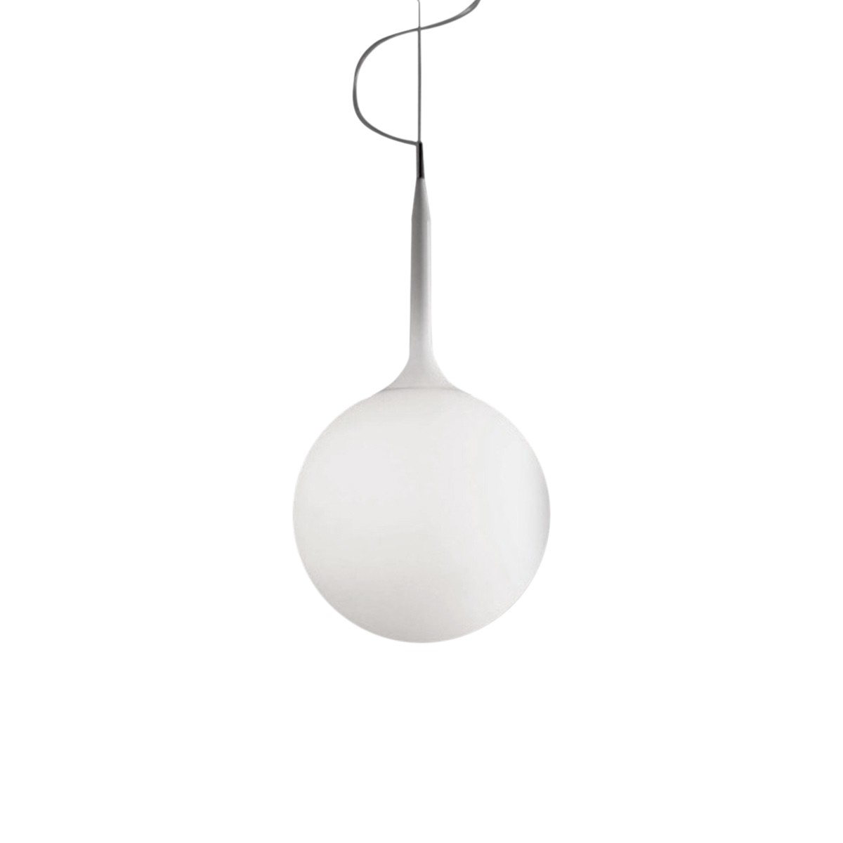 Castore Lampe à suspension 14 G9 48W Blanc