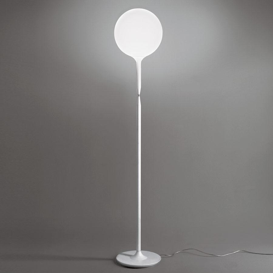 Castore Terra 35 lámpara de Pie G9 150W Blanco