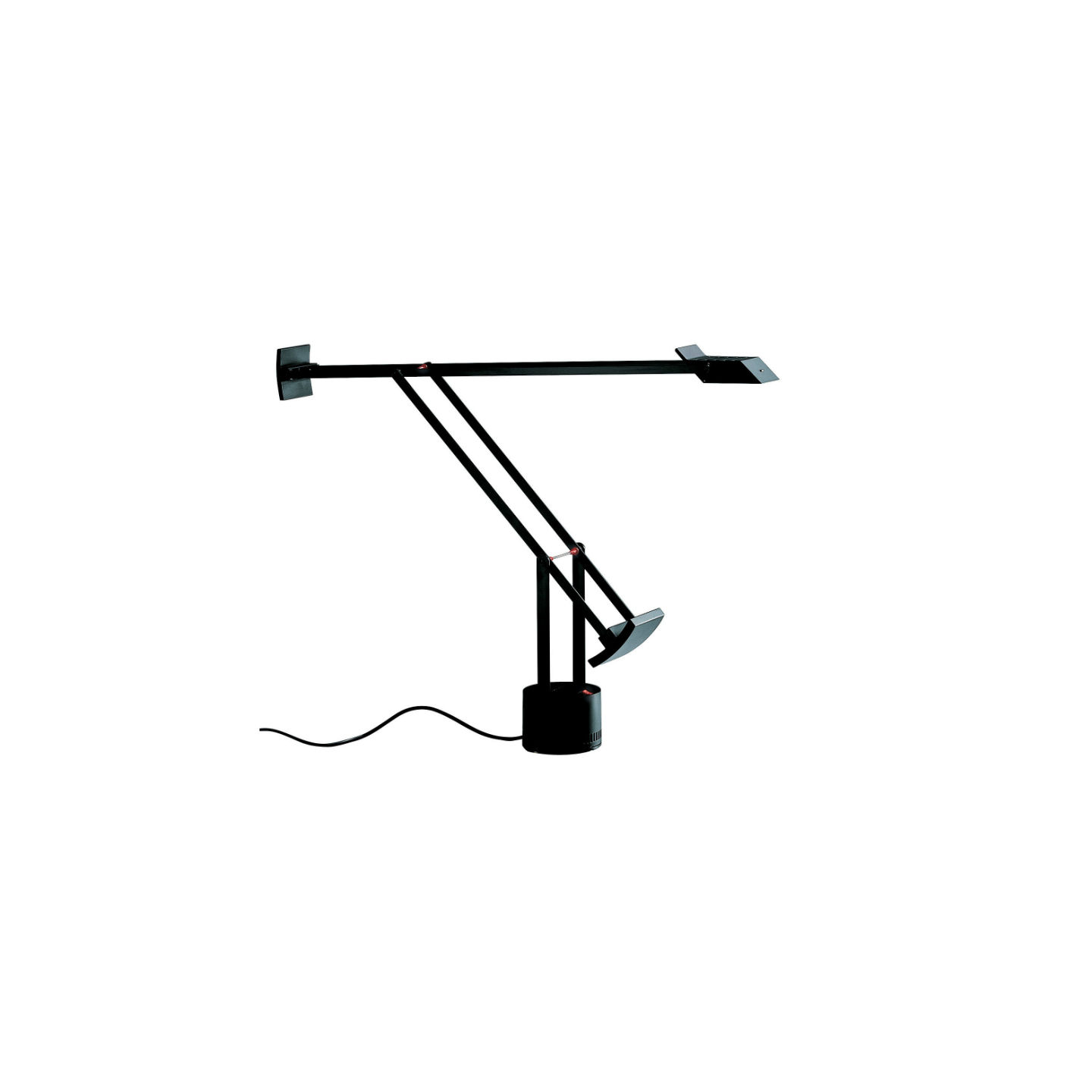 Tizio Lampe de table Gy6.35 1x50w Noir