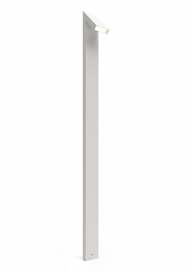 Chilone 250 lámpara de Pie Exterior LED 15w 250cm IP65 gris Claro