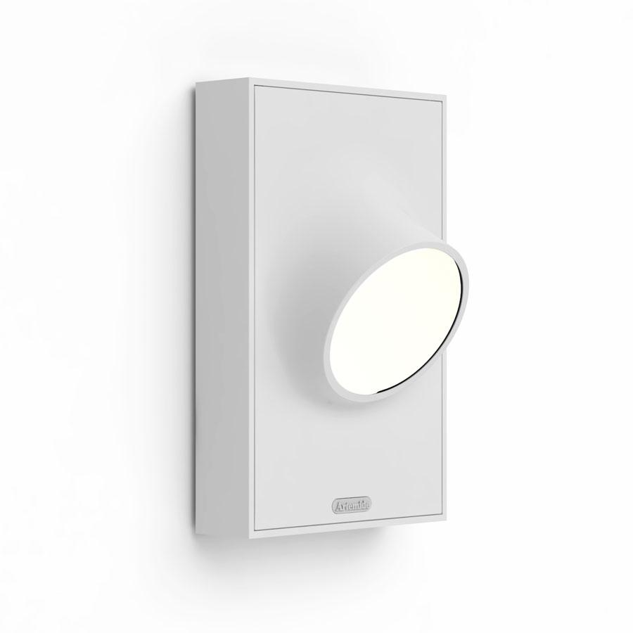 Cíclope Wall Lamp Outdoor 17x27cm LED 6w IP65 Grey Claro