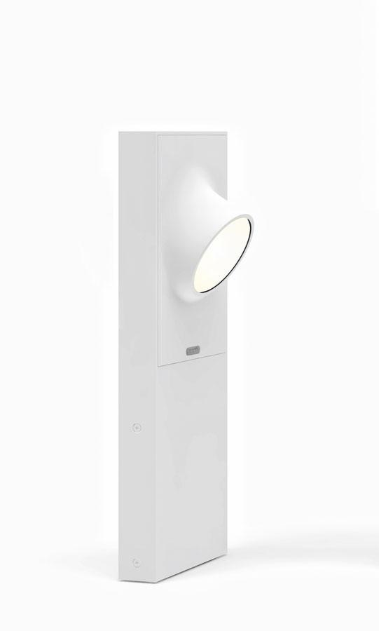 Cíclope lámpara of Floor Lamp Outdoor 50cm LED 6w IP65 Grey Claro
