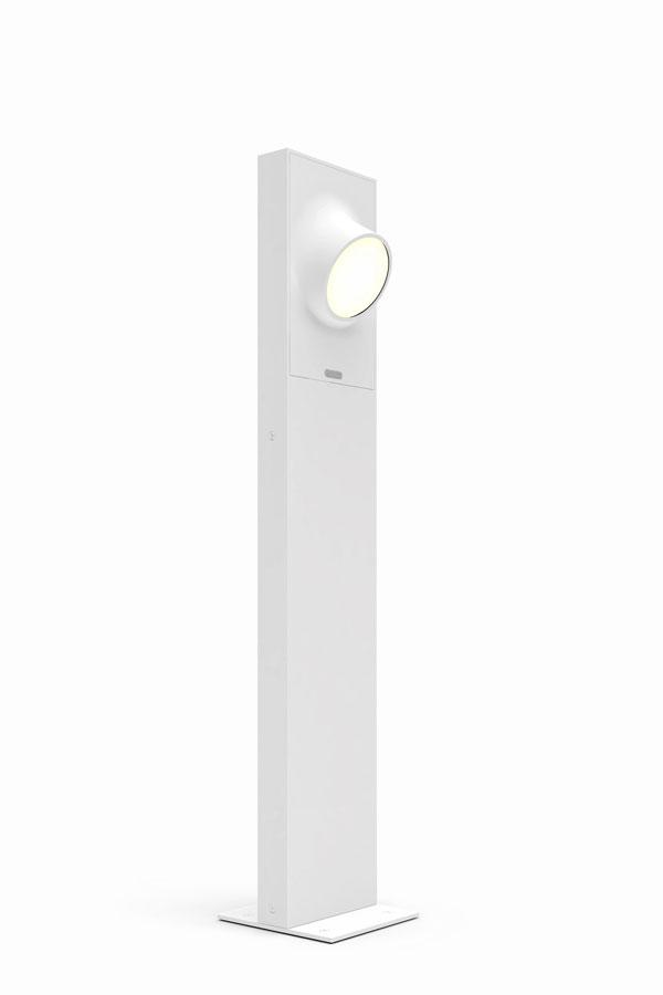 Cíclope lámpara of Floor Lamp Outdoor 90cm LED 6w IP65 Grey Claro