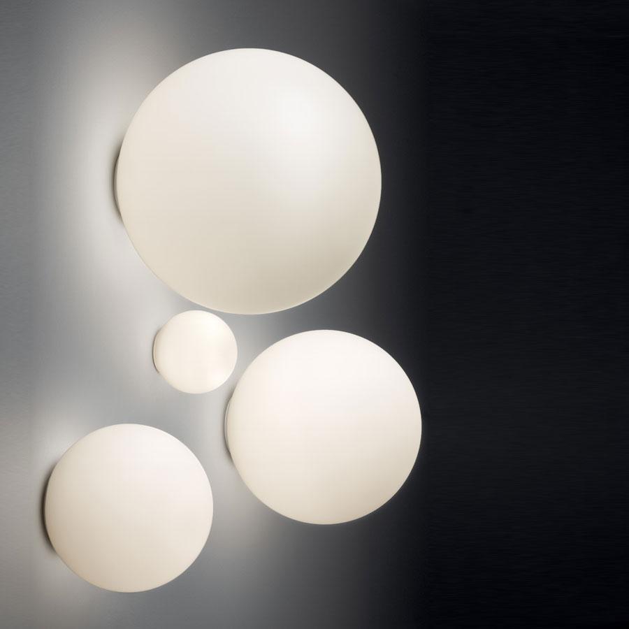 Dioscuri luz de parede/lâmpada do teto 25 branco