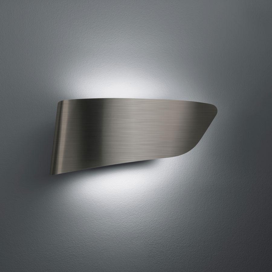 Eurialo Aplique/Plafón Fluorescente Aluminio