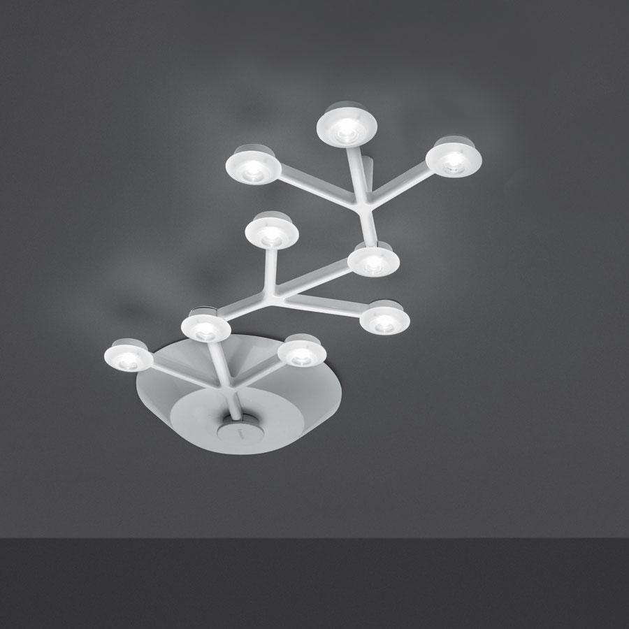 Led Net lâmpada do teto linear 66cm 9 LED 21w branco Lúcido