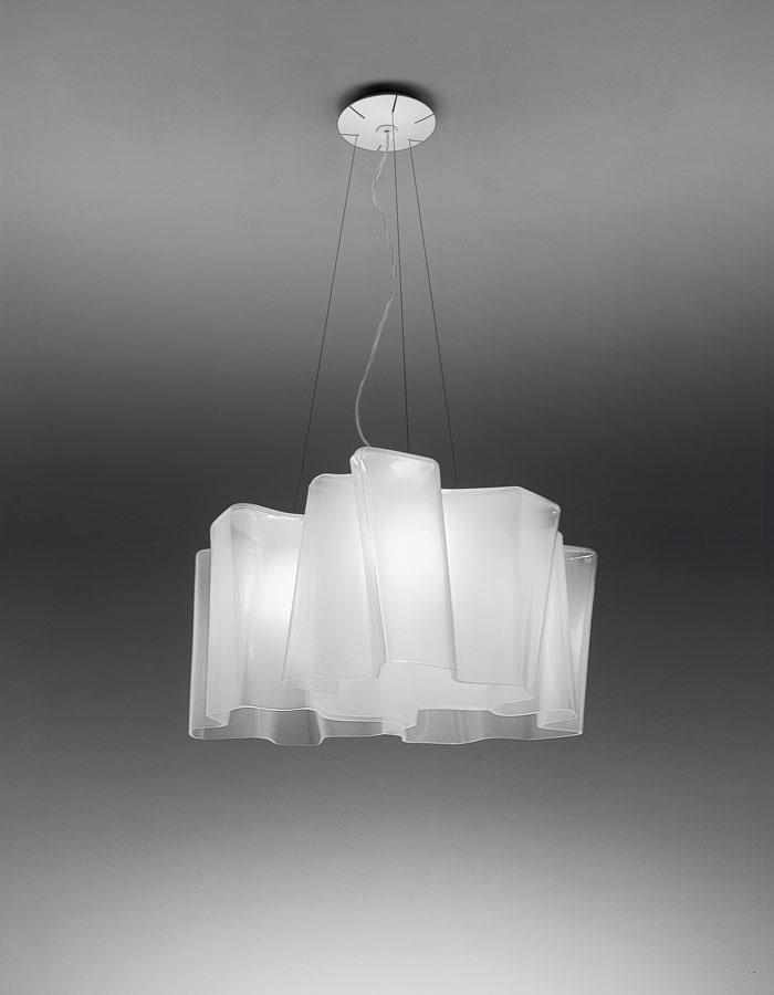 Logico Lámpara Colgante 3x120° 3xE27 116W Blanco